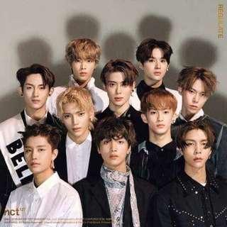 [PRE-ORDER] NCT 127 1st Regular Album Repackage-Regulate