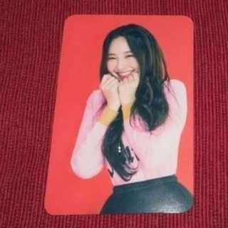 On hand 👍MOMOLAND Taeha Photo Card