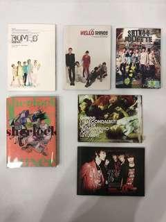 Shinee song albums (include all)