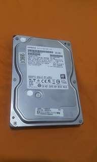 "🚚 Hitachi HDD 3.5"" 1TB 7200rpm  sata 6.0 gb/s"