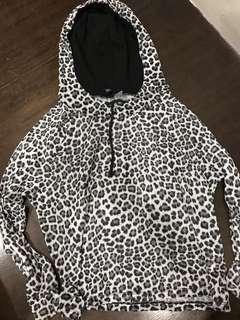 H&M Leopard Print Hoodie