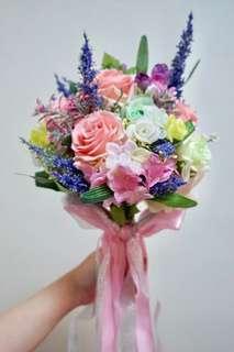 結婚用品 新娘花球