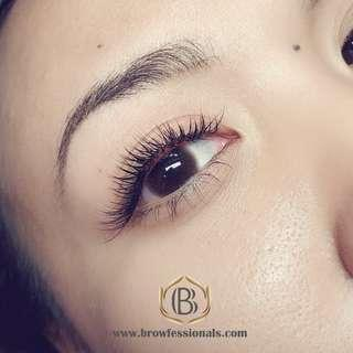 [CNY $38] EYELASH EXTENSIONS SERVICE UNLIMITED CLASSIC