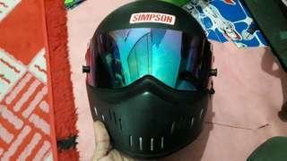 helmet simpson copy ori