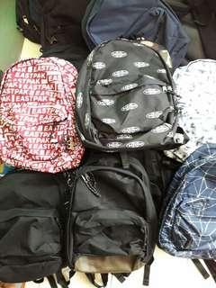 Jual borongan tas EASTPAK ORIGINAL PRODUCT ransel laptop duffle bag sisa export minimal order 100pcs
