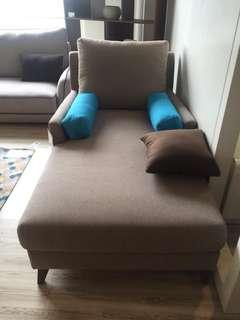 1 Seater sofa cum Day Bed