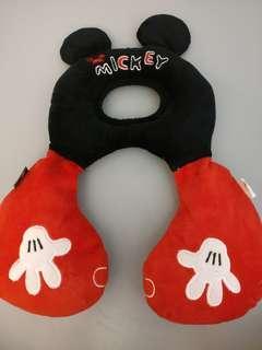 9成新 Mickey  米奇 BB  baby 嬰兒護枕 disney