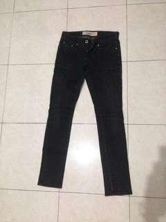 April 77 Joey Hi-Standard 1955 Black Coated Jeans