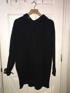 M Boutique Oversized Hoodie Dress