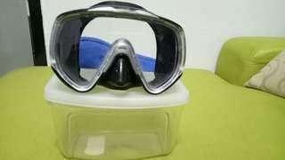 Scuba Mask dn snorkel untuk d lepas kn