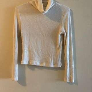 M Boutique White Turtle Neck
