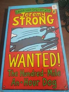 Jeremy Strong,, Wanted! The Hundred-Mile-An-Hour Dog