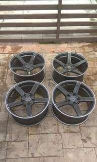 Vossen bc forged 18 rim 3pcs only