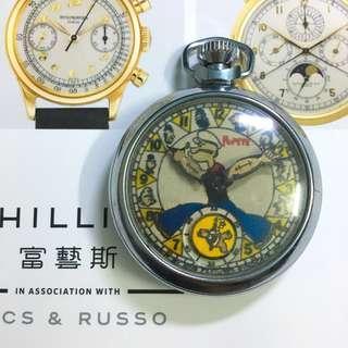 古董30年代大力水手 全鋼陀錶 瑞士手錶 ROLEX TUDOR SEiKO