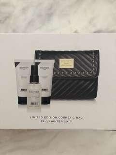 Balmain hair care bag and hair products