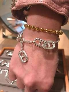 Hermes bracelet925純銀豬鼻手鏈