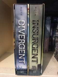 Divergent Book set (Divergent & Insurgent only)