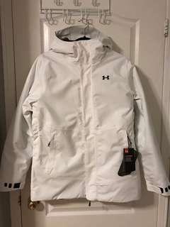Women's Under Armour waterproof jacket size M