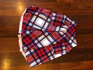 Black milk picnic plaid skirt