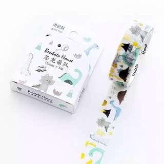 🚚 [INSTOCKS] Dino washi tape