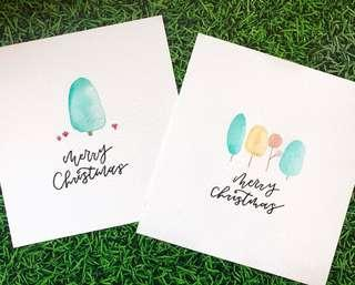 A6 Cute Handmade Christmas Cards