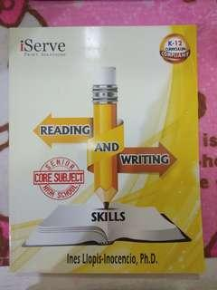 Reading and Writing Book