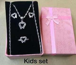 Genuine 925 Silver set for kids