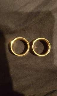 20mm Titanium Gold Tunns