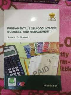 Accounting Book: Fundamentals of Accountancy, Business and Management