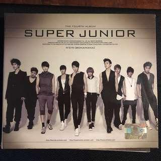 Super Junior - Bonamana Version C CD