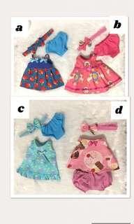 baby alive dress set