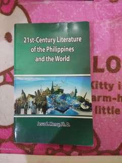 21st Century Literature of the PH & the World Book