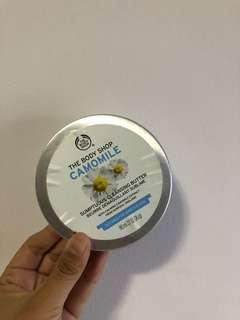 Body Shop cleansing butter camomile