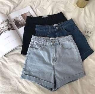 [INSTOCK] Denim Shorts