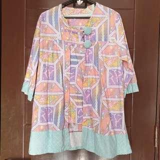 PRELOVED atasan batik blouse