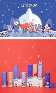 [P/O] BT21 WINTER EDITION: STAINLESS STEEL TUMBLER