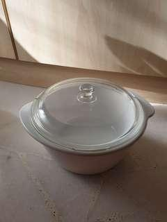 Luminarc France Vitroline Casserole with Glass Cover Cooking Pot
