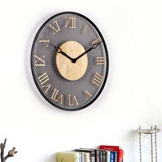 Modern Element Wall Clock | Metal Clock | Iron
