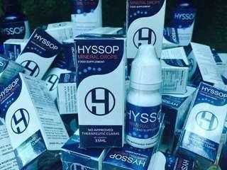 HYSSOP MINERAL DROPS