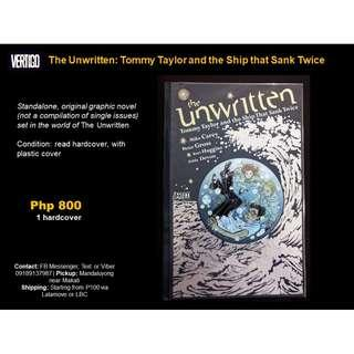 [Martin's X-Mas Comics Sale] The Unwritten: Tommy Taylor and the Ship the Sank Twice