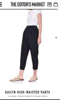 TEM Kailyn Polka High Waisted Pants