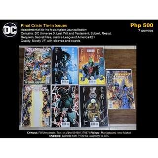 [Martin's X-Mas Comics Sale] Final Crisis Tie-in Issues