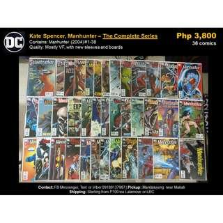 [Martin's X-Mas Comics Sale] Kate Spencer, Manhunter -- The Complete Series