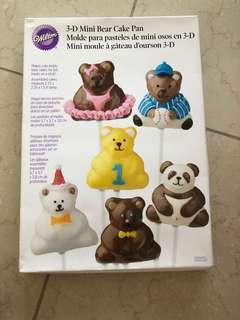 Wilton MINI BEAR baking pan
