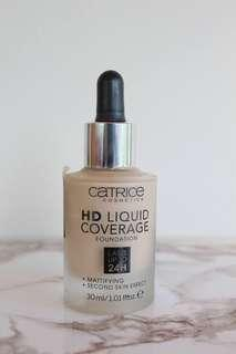 Catrice HD Liquid Coverage Foundation ( 010 )