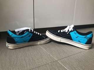 VANS (black and blue)