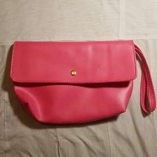 Pink Makeup Pouch