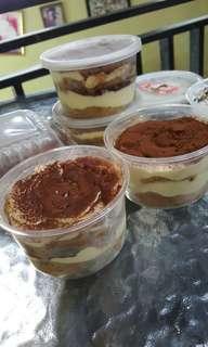 Oreo cheesecake & Tiramisu