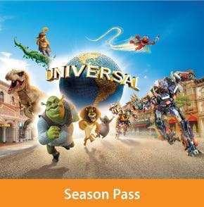 2 X USS Season Pass (unlimited admission until May 2019)