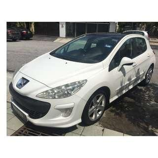 Peugeot 308 Turbo Panoramic 1.6 (A) LikeNew 1owner